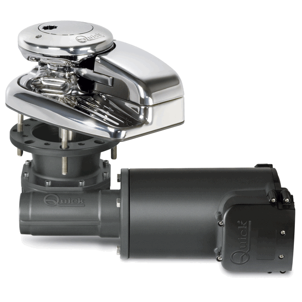Quick Dylan Vertical Windlass 1500W 12V S/S 10mm with Drum