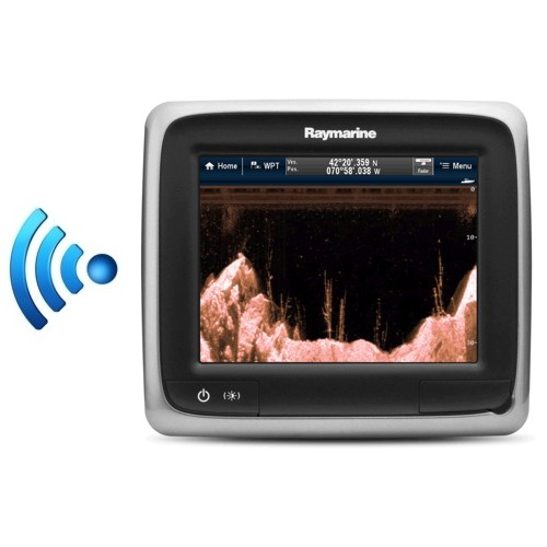 RAYMARINE a68 5.7 INCH Touchscreen MFD c/w Downvision Fishfinder & Wi-Fi exc Txd  – No cartography