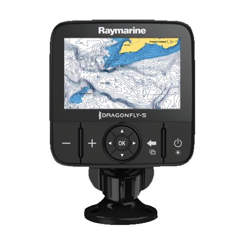 Raymarine Dragonfly 5 M 5 Inch Colour Chart Plotter With GPS & European Charts