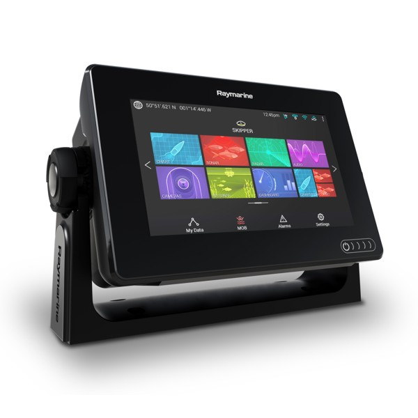Raymarine Axiom 7 DV - 7 Inch Multi Function Display With DownVision 600W Sounder (No TR)