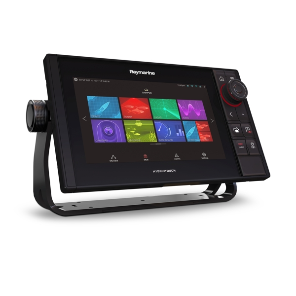 Raymarine Axiom 9 Pro-RVX HybridTouch 9 Inch MFD with intergrated 1kW Sonar. DV.SV and RV 3D Sonar