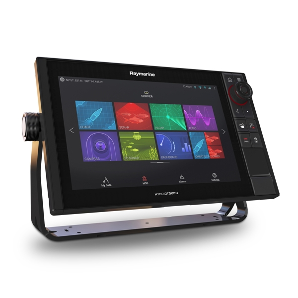 Raymarine Axiom 12 Pro-RVX HybridTouch 12 Inch MFD with intergrated 1kW Sonar. DV.SV and RV 3D Sonar