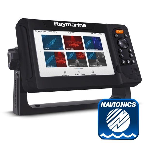 Raymarine Element 7S Plotter / Chirp Sounder With Navionics