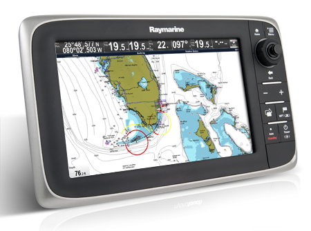 Raymarine C125 Plotter - With Eu Cartography