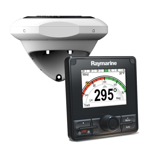 Raymarine Evolution DBW Autopilot with p70Rs control head (direct Volvo IPS /Aquamatic system connection)