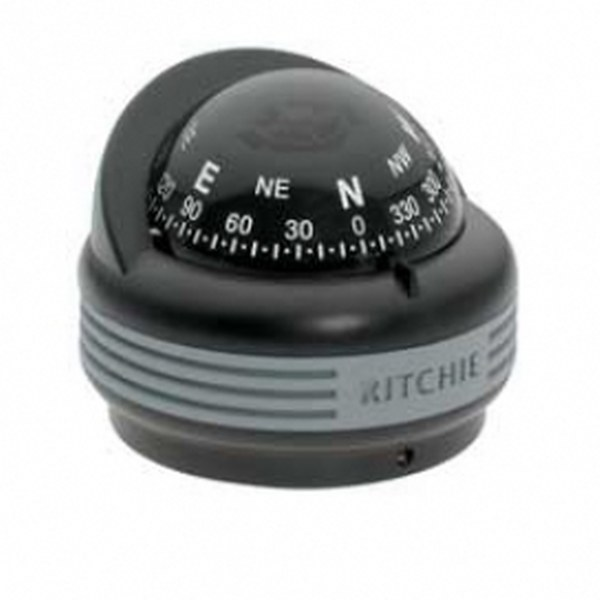 "Ritchie ""Ritchie Trek™ TR-33, 2¼"" Dial Surface Mount - Black"""