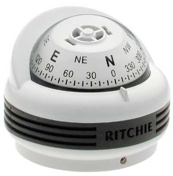 "Ritchie ""Ritchie Trek™ TR-33, 2¼"" Dial Surface Mount - White"""