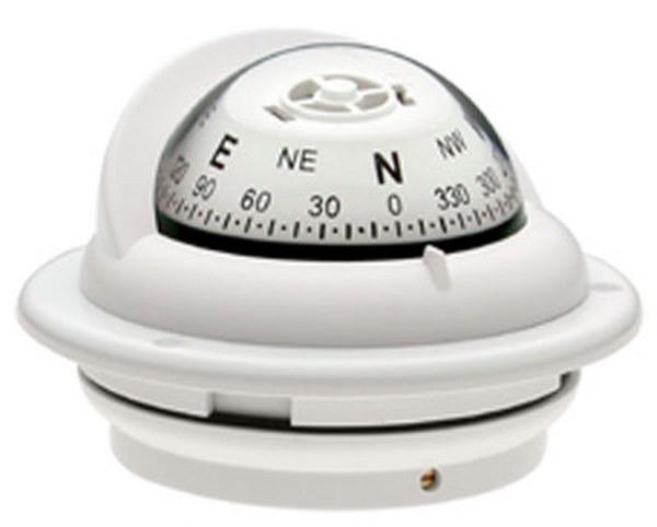 "Ritchie ""Ritchie Trek™ TR-35, 2¼"" Dial Flush Mount - White"""