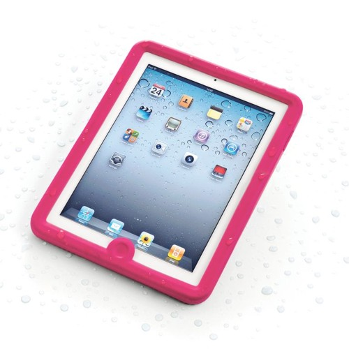 IPAD 2/3 WATERPROOF CASE PINK