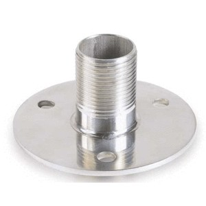 Shakespeare 4710 Flange mount - Stainless Steel (25mm)