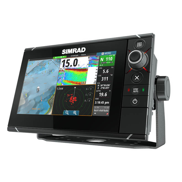 Simrad NSS7 evo2 Combo Display Built-in CHIRP Sounder and StructureScan & Insight Cartography