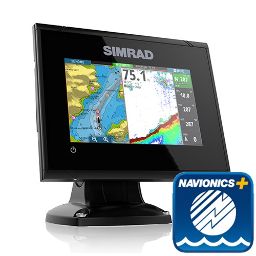 Simrad GO5 XSE 5 Inch Plotter / Sounder With Navionics + Card & No Transducer