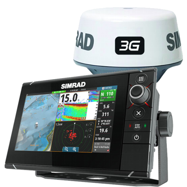 Simrad NSS7 Evo2 Display With 3G Radar Bundle With Insight Cartography