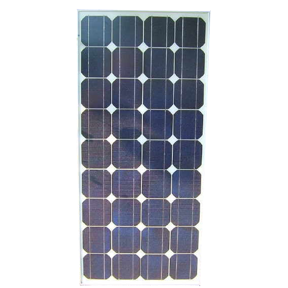 Monocrystalline Rigid Solar Panel 100W 12v