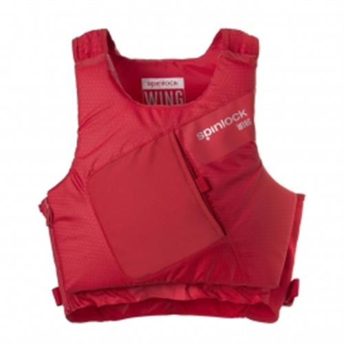 Spinlock Size 1 Wing Pfd Side Zip Mercury Red