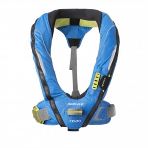 Spinlock Pacific Blue Cento - Junior Inflatable Lifejacket Harness