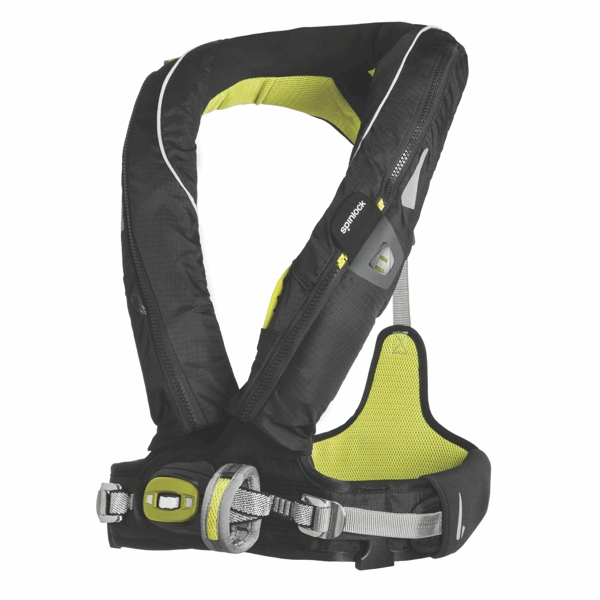 Spinlock Deckvest 5D PRO 275N With Harness - Size 2 - Black