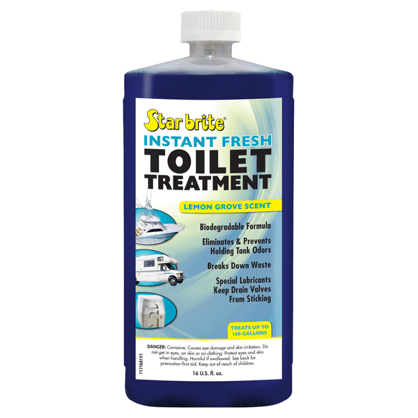 Starbrite Instant Fresh Toilet Chemical 500ml Lemon
