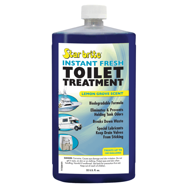 Starbrite Instant Fresh Toilet Chemical 950ml Lemon