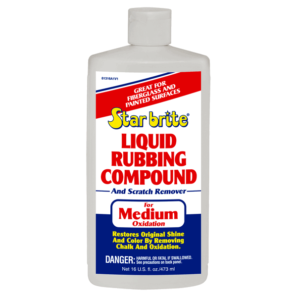 Starbrite Liquid Rubbing Compound 500ml Medium Oxidation