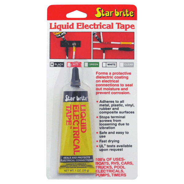 Starbrite Liquid Electrical Tape 29.5ml Black