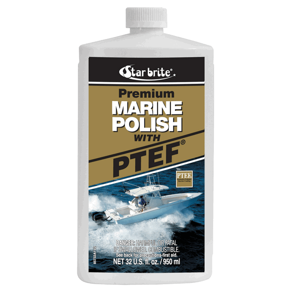 Starbrite Prem Marine Liquid Polish 1Ltr with PTEF
