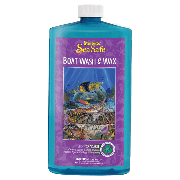 Starbrite Sea Safe Wash & Wax 1Ltr ECO Friendly