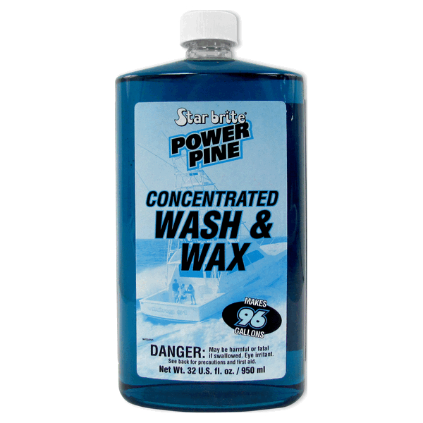 Starbrite Power Pine Wash & Wax 950ml
