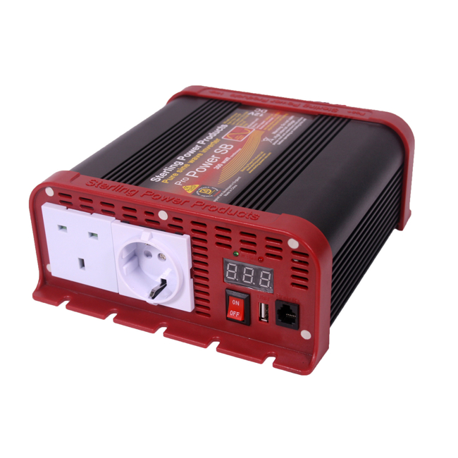 Sterling Pro Power Pure Sine Wave Inverter 12v 600W