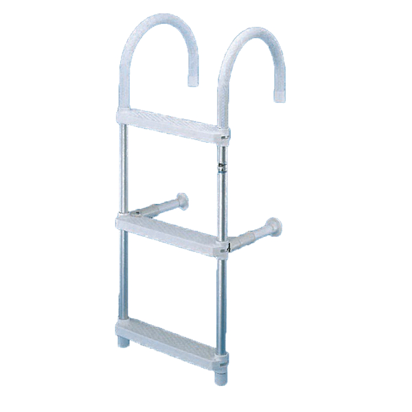 Trem Hook-On Aluminium Ladder 3 Step with Top Bend