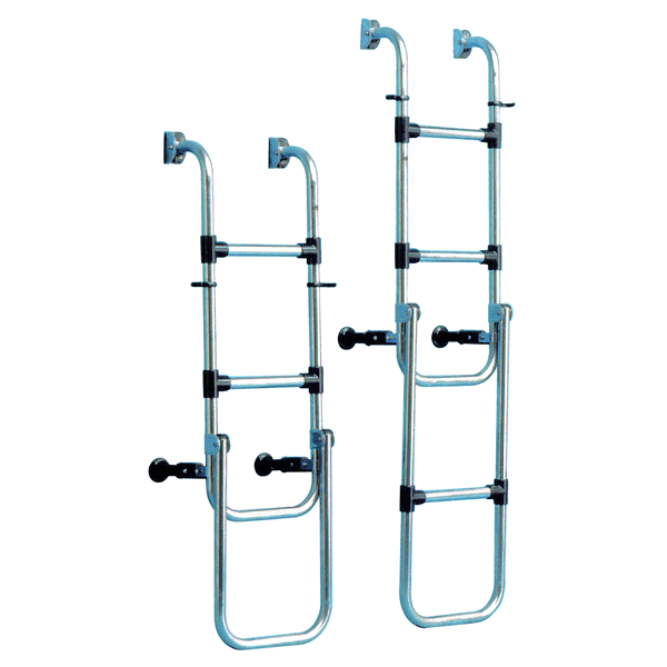 Trem Boarding Ladder 3 Steps Folds open to 75cm
