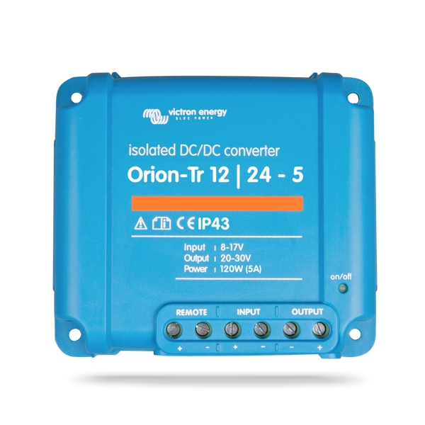 Victron Energy Orion-Tr 12/12 - 110W DC/DC Converter with Galvanic Isolation