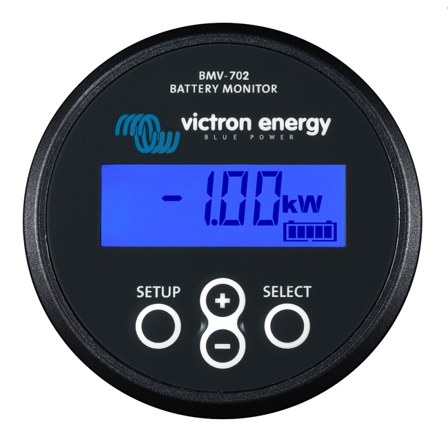 Victron BMV-702 Precision Battery monitor 9-90VDC (Black)