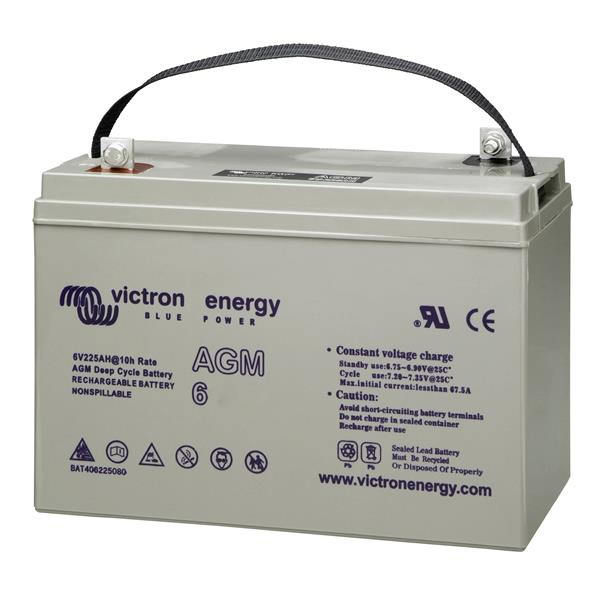 Victron Energy 6V/240Ah AGM Deep Cycle Battery