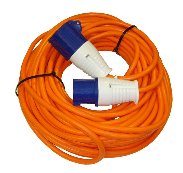 Waveline 25M Hook Up Lead 16A 2.5mm Sq Cable