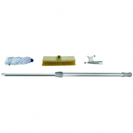 Waveline Telescopic Boat Hook with Washing Kit