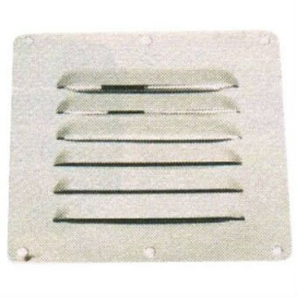 Waveline Louvered Vent AISI316 127x115mm