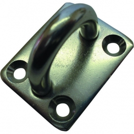 Waveline Square Eye Plate - S/Steel 30 x 35mm