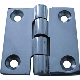 Waveline Butt Hinge - S/Steel 2 x2