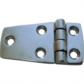 Waveline Deck Hinge 5 hole - S/Steel 1 1/2 x 2