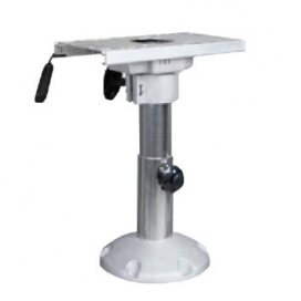 "Waveline Aluminium Adjustable Boat Seat Pedestal with slider 13""-17"""