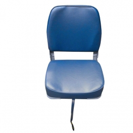 Waveline Navy Classic Low Back Folding Seat S/S 316 Fittings