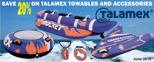 Save 20% on Talamex Towables