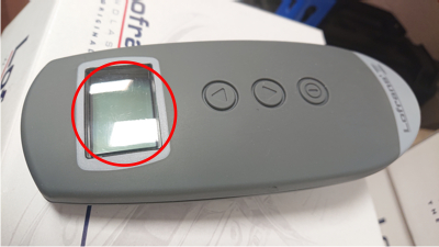 Lofrans Galaxy 703 Remote Blemishes from the Factory