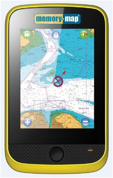 MEMORY MAP ADVENTURER 3500 GPS MARINE HANDHELD