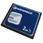 Navionics Compact Flash Card