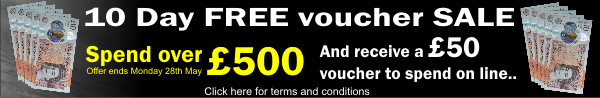 10 Day FREE Voucher SALE
