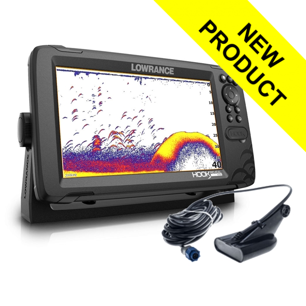 Lowrance Hook Reveal 9 With 50/200 HDI Transducer