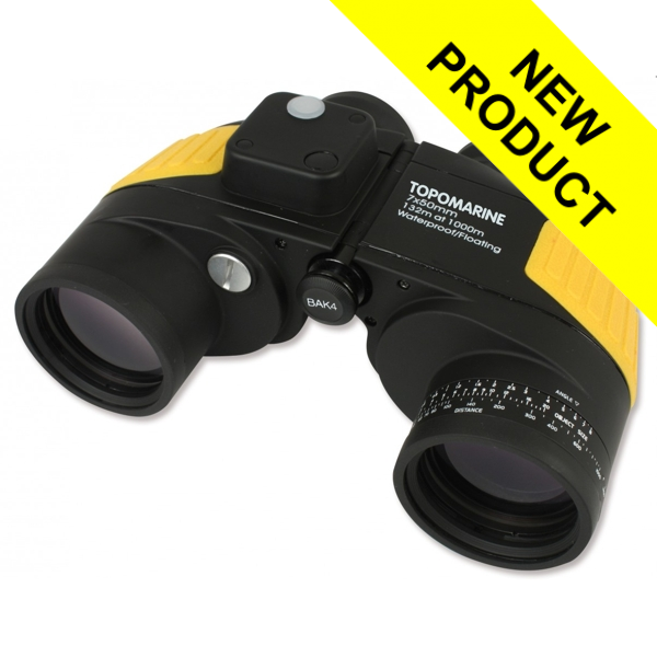 Plastimo Rescue 7 x 50 Binoculars With Built In Compass