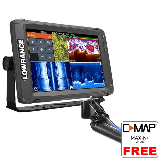 Lowrance Elite-12 Ti Fishfinder/Chartplotter with TotalScan™ Transducer